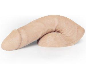 Umělý penis na vyplnění rozkroku Mr. Limpy Large, velký – Vycpávky a nálepky na bradavky