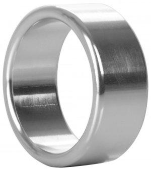 Široký kovový erekční kroužek – Nevibrační erekční kroužky