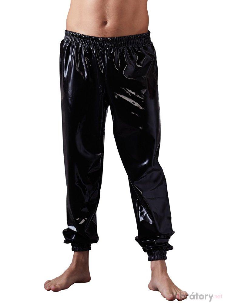 Volné latexové kalhoty LateX, S