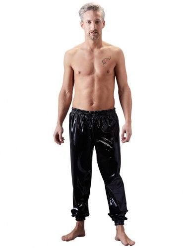Volné latexové kalhoty