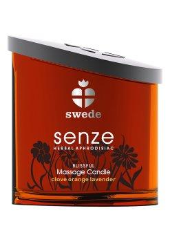 Masážní olejová svíčka Senze Blissful – Svíčky pro uvolňující i erotickou masáž