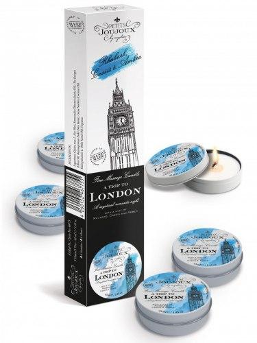 Masážní svíčka A Trip To London, 43 ml