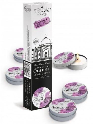 Masážní svíčka A Trip To Orient, 43 ml