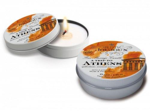 Masážní svíčka A Trip To Athens, 43 ml