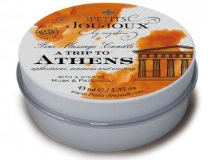 Masážní svíčka A Trip To Athens, 43 ml – Svíčky pro uvolňující i erotickou masáž