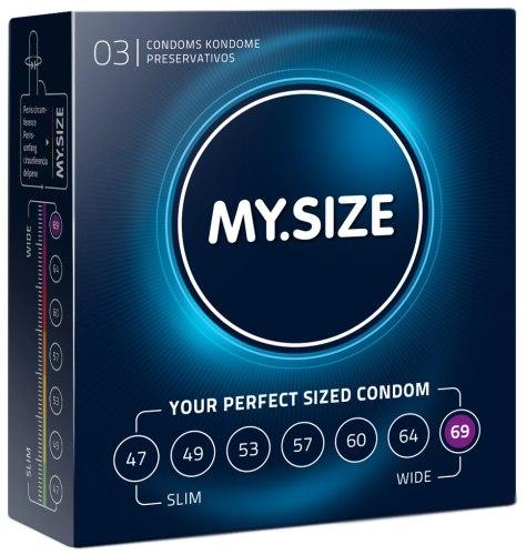 Kondomy MY.SIZE 69 mm, 3 ks