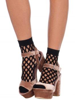 Ponožky s velkými oky Leg Avenue – Dámské sexy ponožky a podkolenky