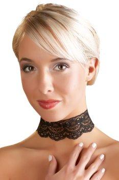 Krajková ozdoba-obojek na krk – Úžasné ozdoby na krk, náhrdelníky a ozdobné obojky