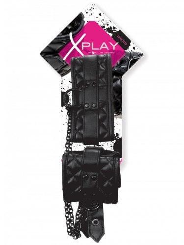 Luxusní obojek a pouta na ruce X-Play