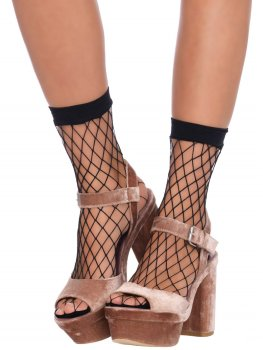 Síťované ponožky Leg Avenue – Síťované erotické prádlo