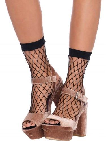 Síťované ponožky Leg Avenue