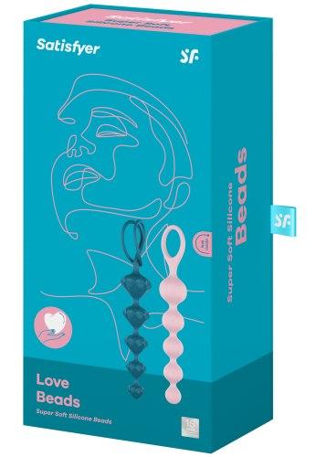 Sada análních kuliček Satisfyer Beads, barevné