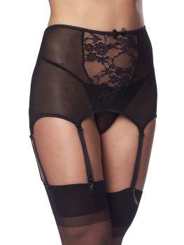 Vysoký podvazkový pás + punčochy a tanga Rimba – Sexy dámské podvazkové pásy a prádlo