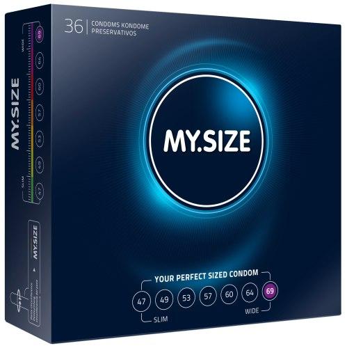 Kondomy MY.SIZE 69 mm, 36 ks