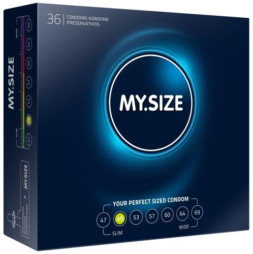 Kondomy MY.SIZE 49 mm, 36 ks