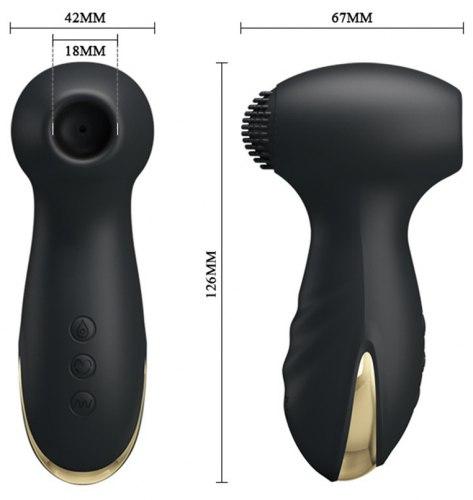 Sací a vibrační stimulátor klitorisu Royal Pleasure Hammer