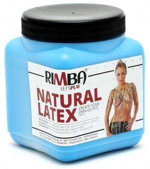 Tekutý latex - modrý – Erotické pomůcky z latexu