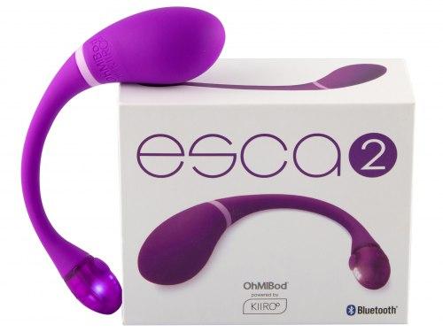 Vibrační vajíčko Esca 2 - ovládané mobilem