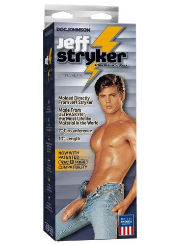 Realistické dildo Jeff Stryker