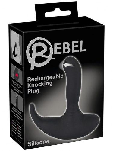 Vibrační a masážní stimulátor prostaty Rebel Knocking