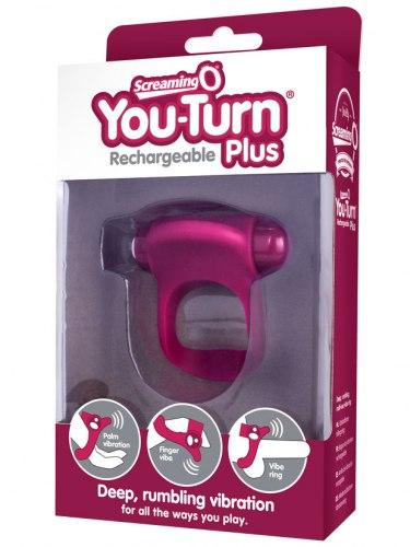 Vibrační erekční kroužek You-Turn Plus 3 v 1