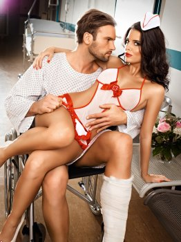 Kostým Zdravotní sestra - Candy Nurse – Dámské kostýmy na roleplay