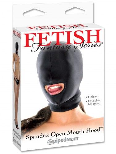 Maska s otvorem pro ústa Fetish Fantasy