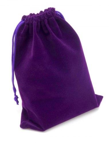 Dárkový sametový pytlík - fialový, různé velikosti