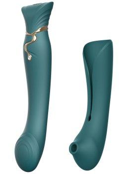 Pulzační vibrátor na bod G/stimulátor klitorisu ZALO Queen – Vibrátory na bod G