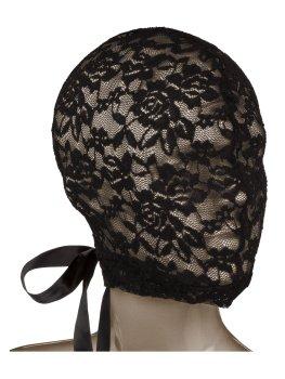 SCANDAL Krajková maska na hlavu se šněrováním – Masky na hlavu