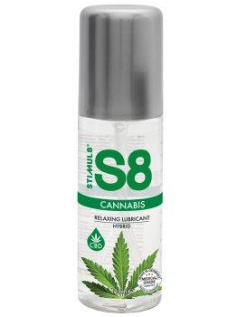 Hybridní lubrikační gel S8 Cannabis - s výtažkem z konopí – Hybridní lubrikační gely