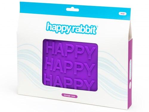 Silikonová taštička na erotické pomůcky Happy Rabbit L (velká)