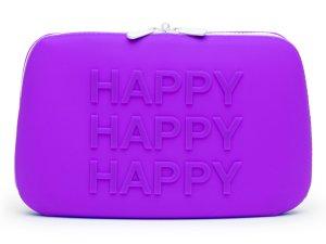 Silikonová taštička na erotické pomůcky Happy Rabbit L (velká) – Tašky a kufříky na erotické pomůcky