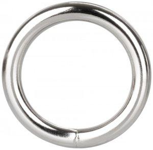 Kovový erekční kroužek Silver Ring – Nevibrační erekční kroužky