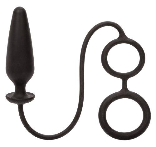 Anální kolík s kroužky na penis a varlata Dr. Joel