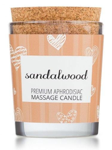 Afrodiziakální masážní svíčka MAGNETIFICO - Enjoy it! Sandalwood