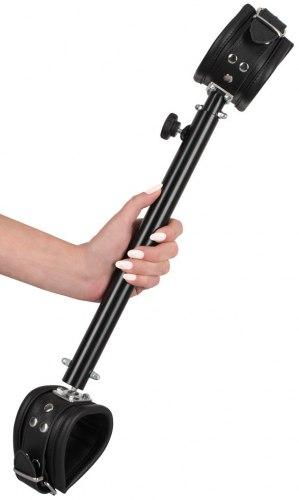 Nastavitelná roztahovací tyč s koženými pouty 35-60 cm