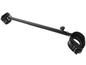Nastavitelná roztahovací tyč s koženými pouty 65-120 cm – Roztahovací tyče