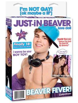 Nafukovací muž Just-In Beaver – Nafukovací muži s penisem (panáci)