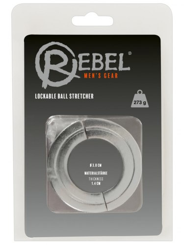 Závaží na varlata Rebel Lockable Ball Stretcher, 273 g