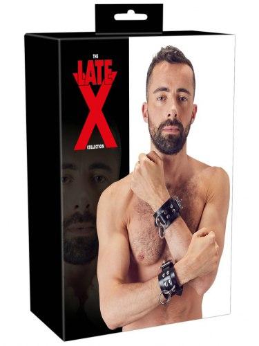 Široká latexová pouta na ruce LateX