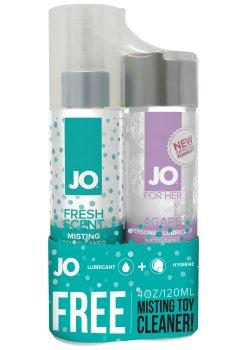Lubrikační gel System JO Agapé + čisticí sprej ZDARMA – Lubrikační gely na vodní bázi