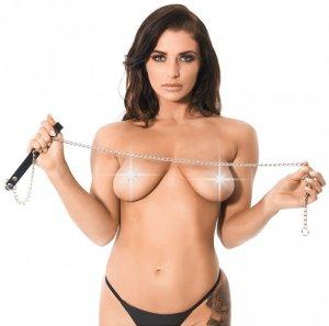 Dlouhé vodítko Rimba, 120 cm – Obojky a vodítka pro BDSM hrátky