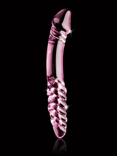 Oboustranné skleněné dildo Icicles No. 57