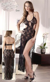 Dlouhé krajkové šaty – Dámské šaty a minišaty