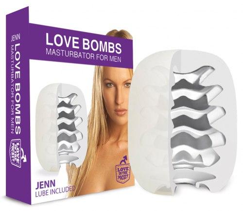 Masturbační vajíčko pro muže Love Bombs Jenn