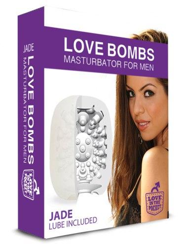Masturbační vajíčko pro muže Love Bombs Jade