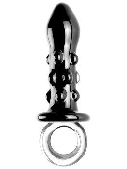Skleněný anální kolík Icicles No. 37 – Klasické anální kolíky