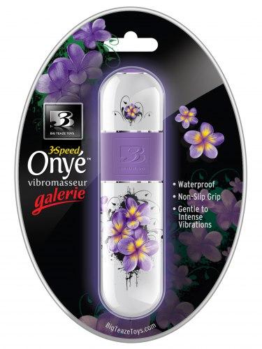 Stylový minivibrátor B3 Onye Galerie Floral
