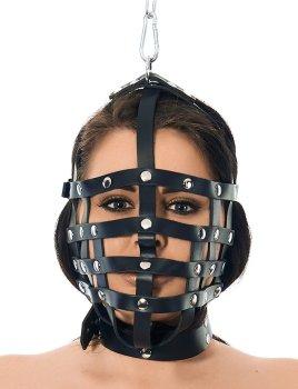 Řemínková maska se závěsným kroužkem Rimba – Masky na hlavu